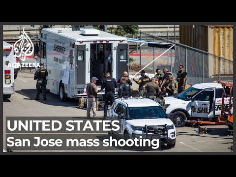 'It's terrible, awful': Eight killed in San Jose mass shooting