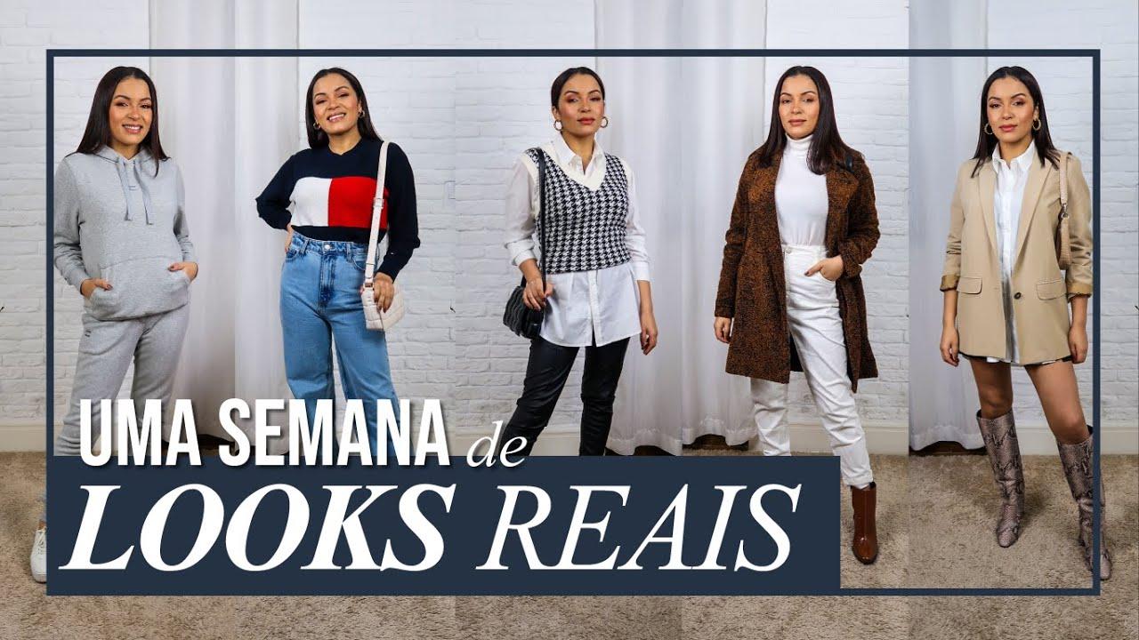 UMA SEMANA DE LOOKS REAIS   PEÇAS NOVAS