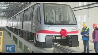 sneak peek driverless trains to run on shanghai metro line 8