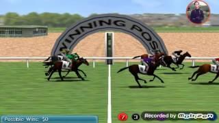 Virtual Horse Racing 3D Gameplay Review HD card game Android game balap kuda