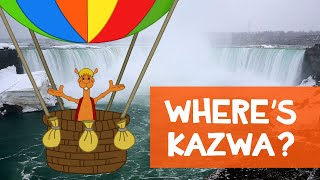 Kazwa goes to Niagara Falls!