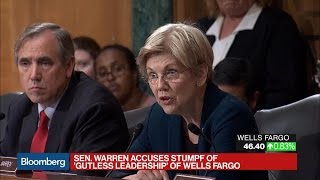 Warren Tells Wells Fargo's CEO He Should Resign Over Fake Accounts