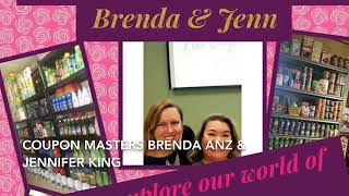 Brenda Anz & Jennifer King  letting you know how to find them on the web!