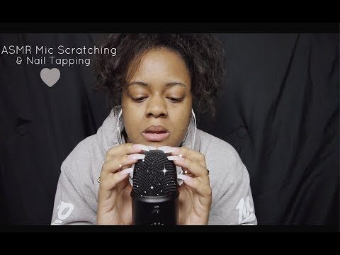 ASMR Mic Scratching & Nail Tapping *Brain Massage*