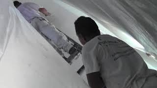 Winkler Crew Painting Church in Alexandria, VA
