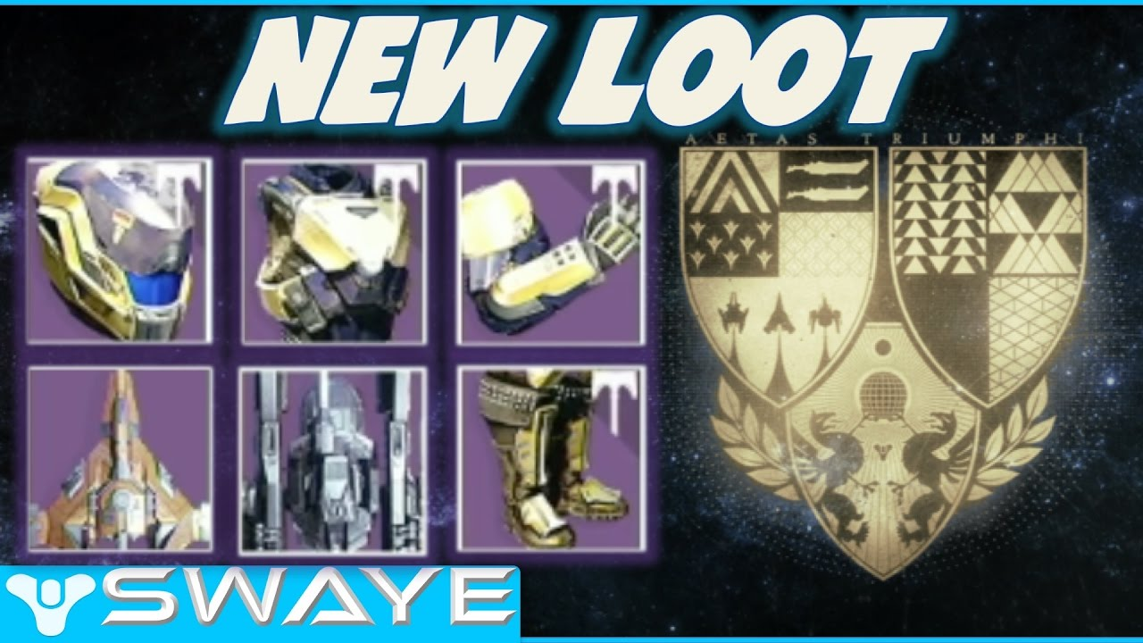 new loot! bungie weekly rituals reveal age of triumph update