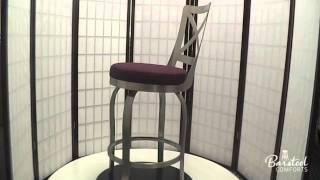 Trica's Chateau Swivel Bar Stool