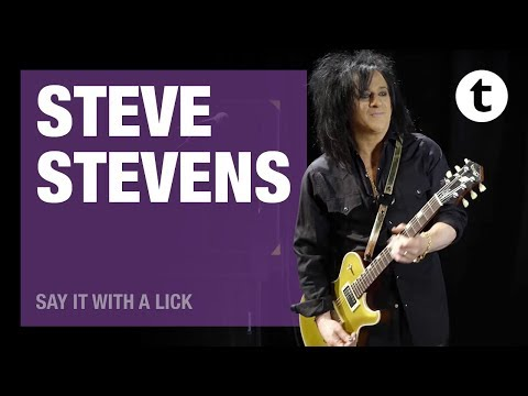 Say It With A Lick | Steve Stevens | Billy Idol