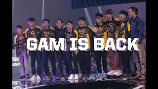GAM#14: G4M IS B4CK - Nhà vua trở lại | Nhật ký của GAM