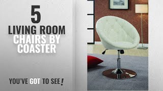 Top 10 Coaster Living Room Chairs [2018]: Coaster Home Furnishings Contemporary Height Adjustable