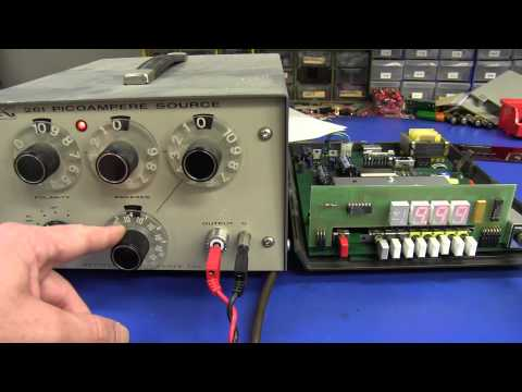 EEVblog #406 - Keithley 480 Picoammeter Teardown & Calibration