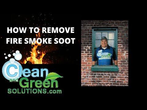 Fire Smoke Soot Removal Houston Texas