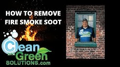 Fire Smoke Soot Removal Houston Texas