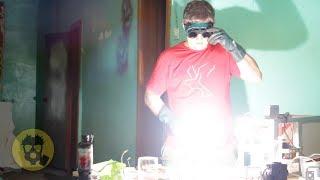 Молния в стакане. Плазменный светильник своими руками.