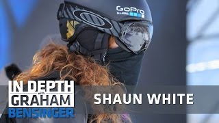 Shaun White: I totally agree with Tiger Woods' approach