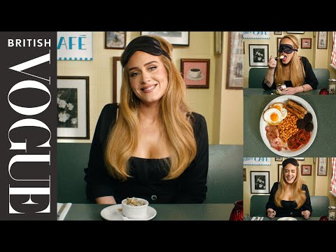 Adele Eats Spotted Dick, Cockles & 10 Other British Dishes | British Vogue