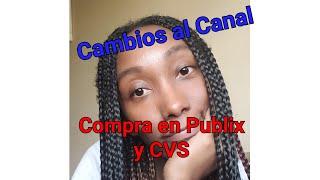 CAMBIOS A MI CANAL|Compra en Publix y CVS|Randee Saves