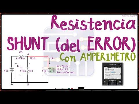 SHUNT Resistance | From ERROR | Rsh | MULTISIM 14 | PROGRAMMING TI CX CAS