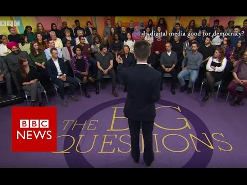 Is digital media good for democracy? BBC News