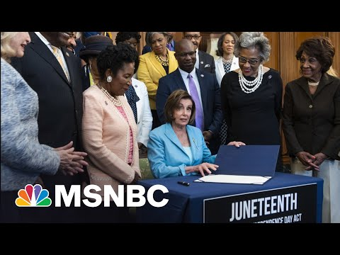 Rep. Jackson Lee On Juneteenth: 'America, Show The World Your Experiment Is Working'