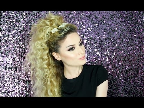 style hair for party hairstyle for curly hair 6987 | hqdefault