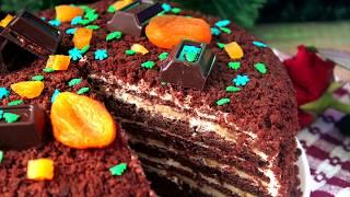 ТОРТ НА НОВЫЙ ГОД. Самый вкусный шоколадный торт НА НОВЫЙ ГОД