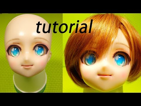 bjd face up bjd makeup Dollfie Dream custom ドルフィードリームメイク
