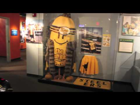 Heinz History Center Displays Memorabilia Of Steelers Broadcaster Myron Cope