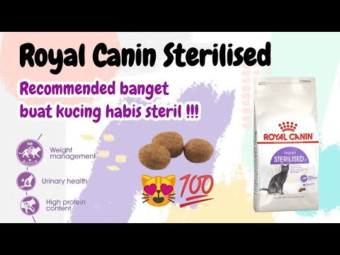 Review Royal Canin Sterilised
