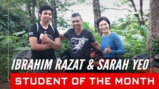 Evolve MMA | Students of the Month: 47-Year-Old Ibrahim Razat & 47-year-old Sarah Yeo