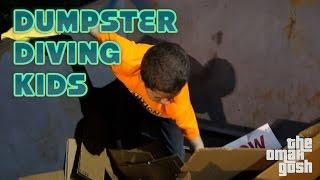 TAKING KIDS DUMPSTER DIVING