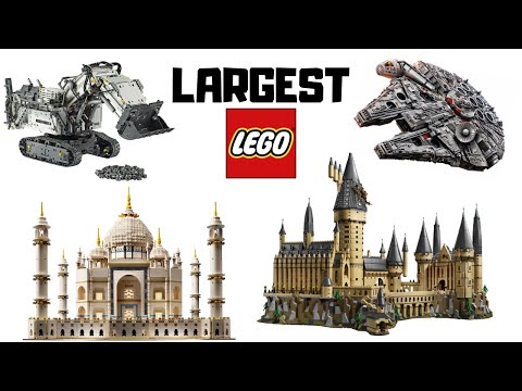 Top 10 LARGEST LEGO Sets EVER Released!