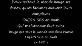 façon sex lyrics