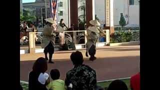 ず~っと沖縄だけど初めて見た踊りです(@_@;)
