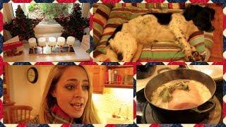 Christmas Ham & Playing Santa! Vlogmas Day 24