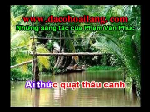 www.conhacquehuong.com- Karaoke: Phận Mồ Côi