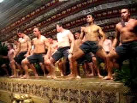 The hakka NZ rugby team