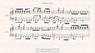 Wedding Dress 1-Piano sheet TVXQ/DBSK(東方神起)