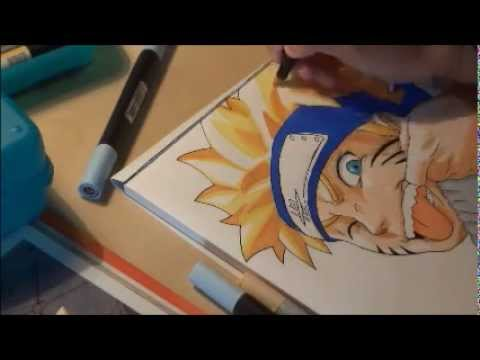 How to draw naruto uzumaki comment dessiner naruto uzumaki youtube - Comment dessiner sasuke ...