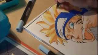 How to draw naruto uzumaki. Comment dessiner Naruto uzumaki