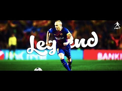 Andres Iniesta ►GRACIAS LEGEND ●Goodbye Barcelona 1996-2018 || HD