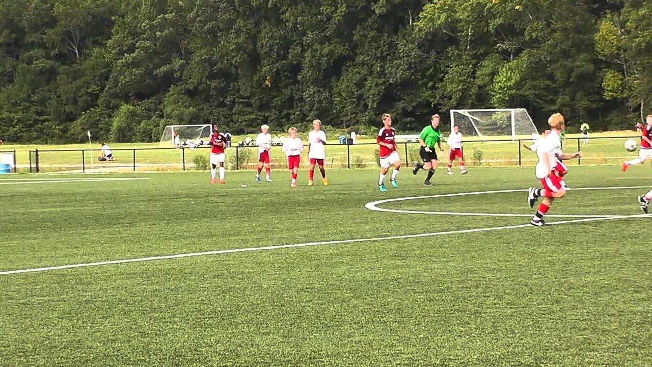 Beach FC U13 Red 3-2 win vs Maryland United - YouTube