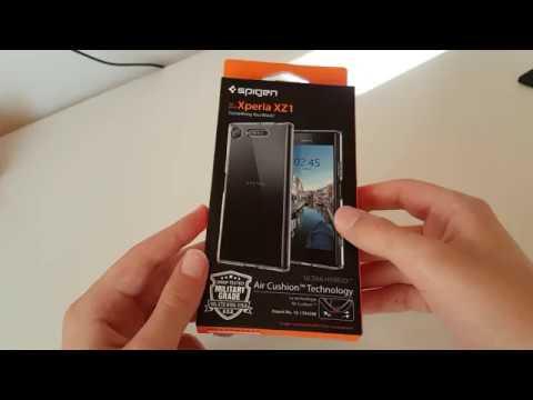the latest 23daa 690a2 Spigen Ultra Hybrid Sony Xperia XZ1 Case