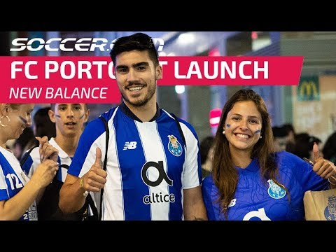 8e293d767 New Balance and FC Porto launch 2018-19 home kit in style - YouTube