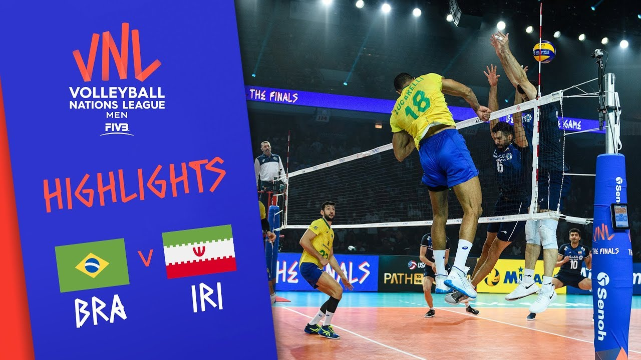 BRAZIL vs. IRAN - Highlights Men | Final Round | Volleyball Nations League 2019