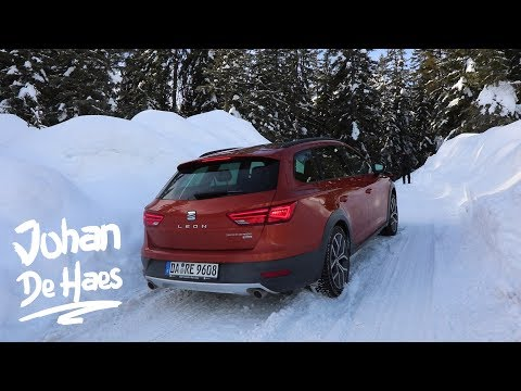 2018 SEAT Leon ST X-PERIENCE 4Drive POV Offroad SNOW Review - Uphill And Downhill In SNOW/ICE