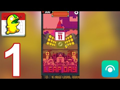Leap Day - Gameplay Walkthrough Part 1 - Level: May 11 (iOS, Android)