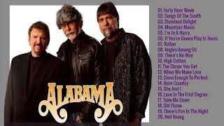 Best Songs Of Alabama | Alabama Greatest Hits Playlist
