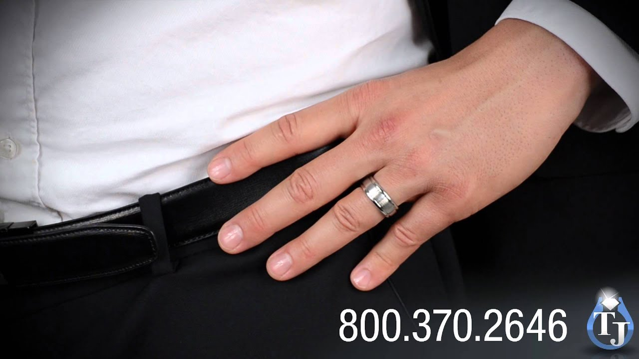 him diamond groom comfort her set cobalt solitaire band rings for bands wedding media fit black white bride