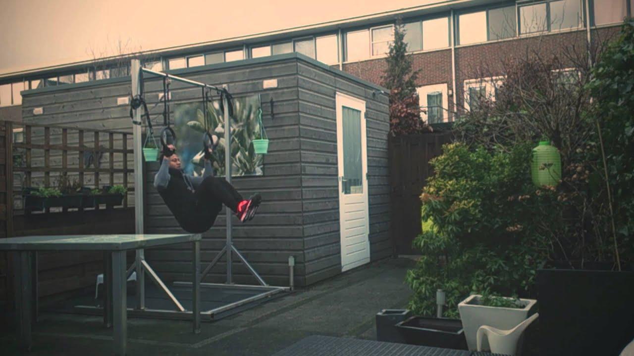 calisthenics workout in my backyard youtube